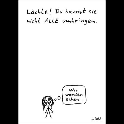 islieb Lächle-Poster