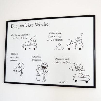 Perfekte-Woche-Poster - is lieb?