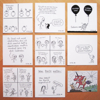islieb Comickarten-Set