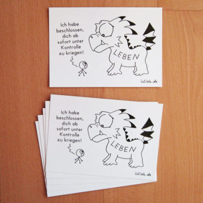 Beschluss Postkarten islieb