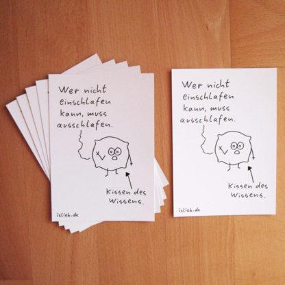 Kissen Postkarten islieb