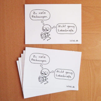 Post Postkarten islieb
