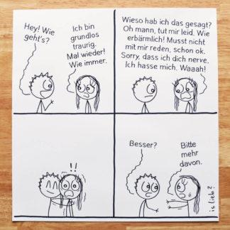 Wie geht's islieb Zeichnung