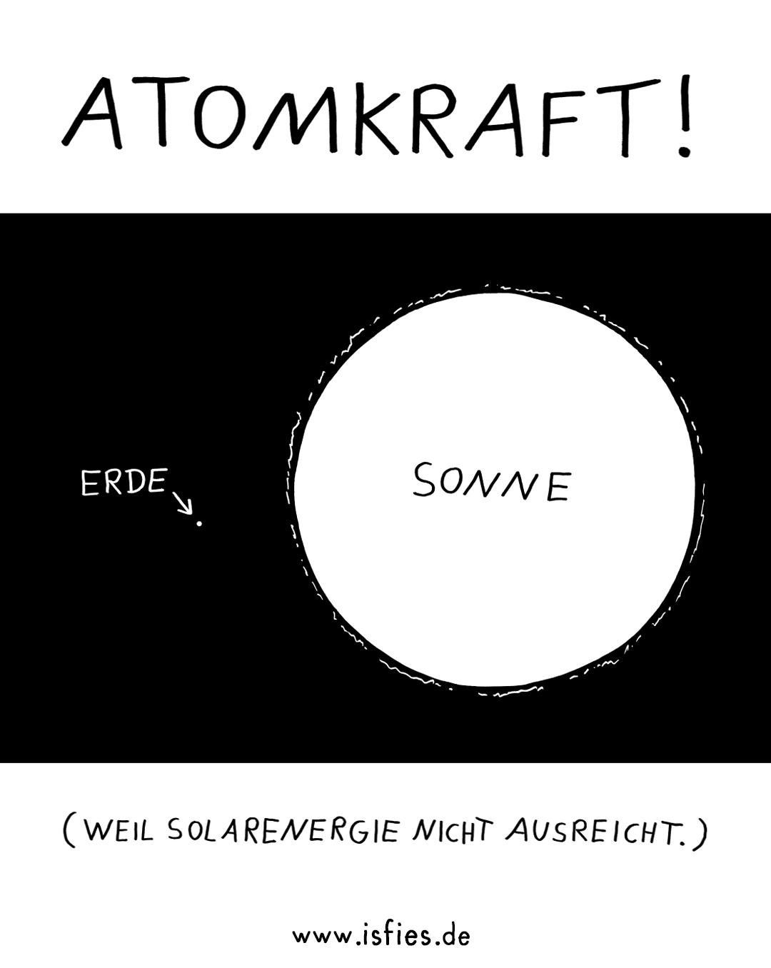 Solarenergie isfies Comic