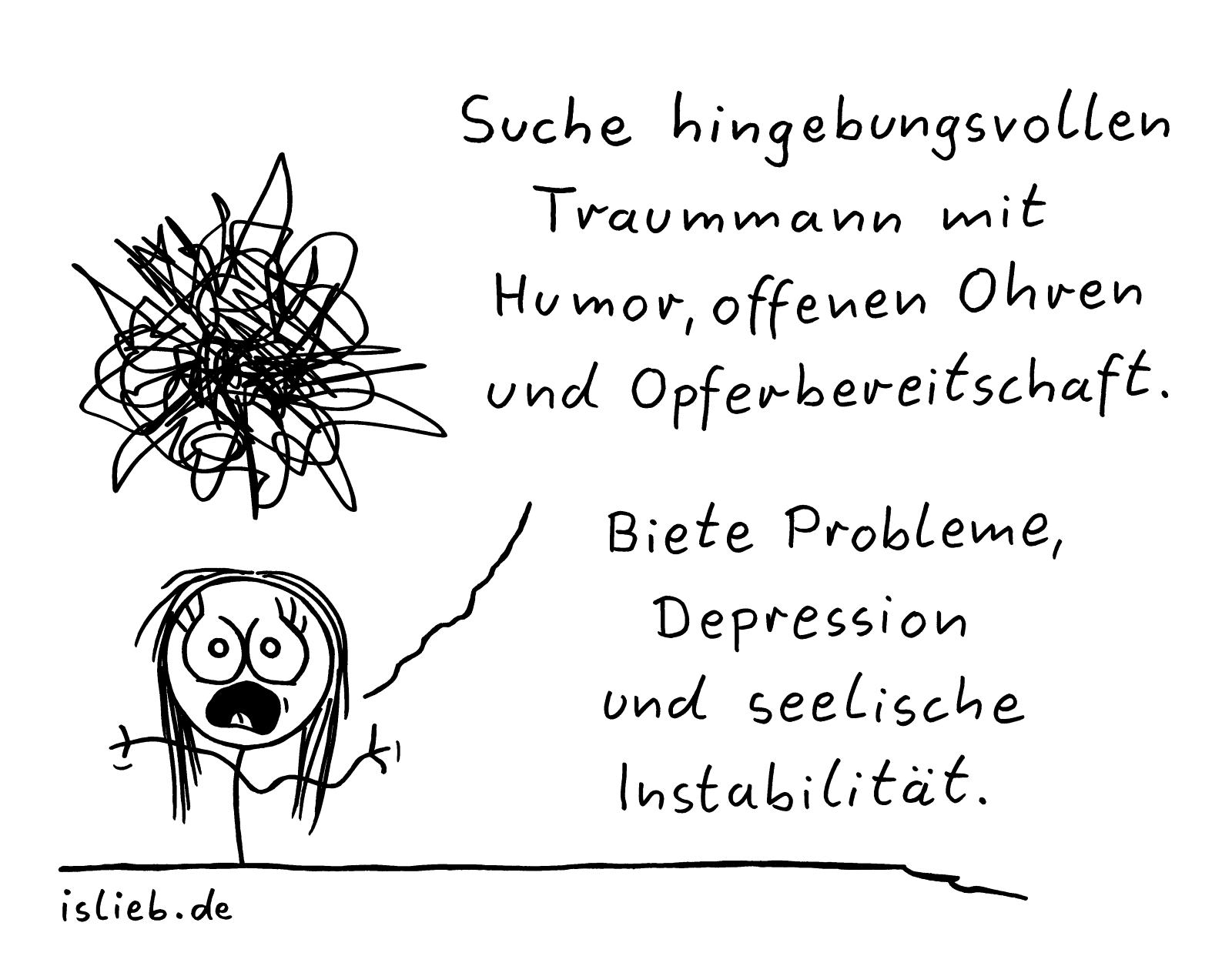 Partnersuche islieb Comic
